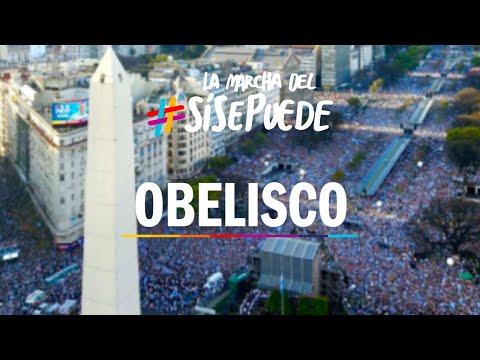 Marcha del #SiSePuede en el Obelisco