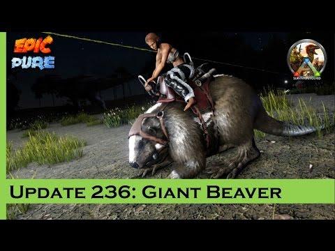 Ark: Survival Evolved Update 236 - Giant Beaver Castor e Algemas PTBR