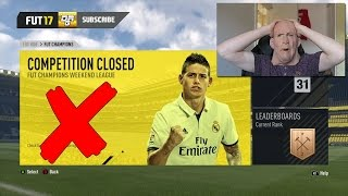 FUT CHAMPIONS WEEKEND LEAGUE CANCELLED DUE TO CHEATERS!!