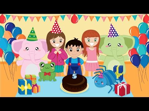 Happy Birthday (Instrumental) | HD Children Songs & Nursery Rhymes by Music For Happy Kids
