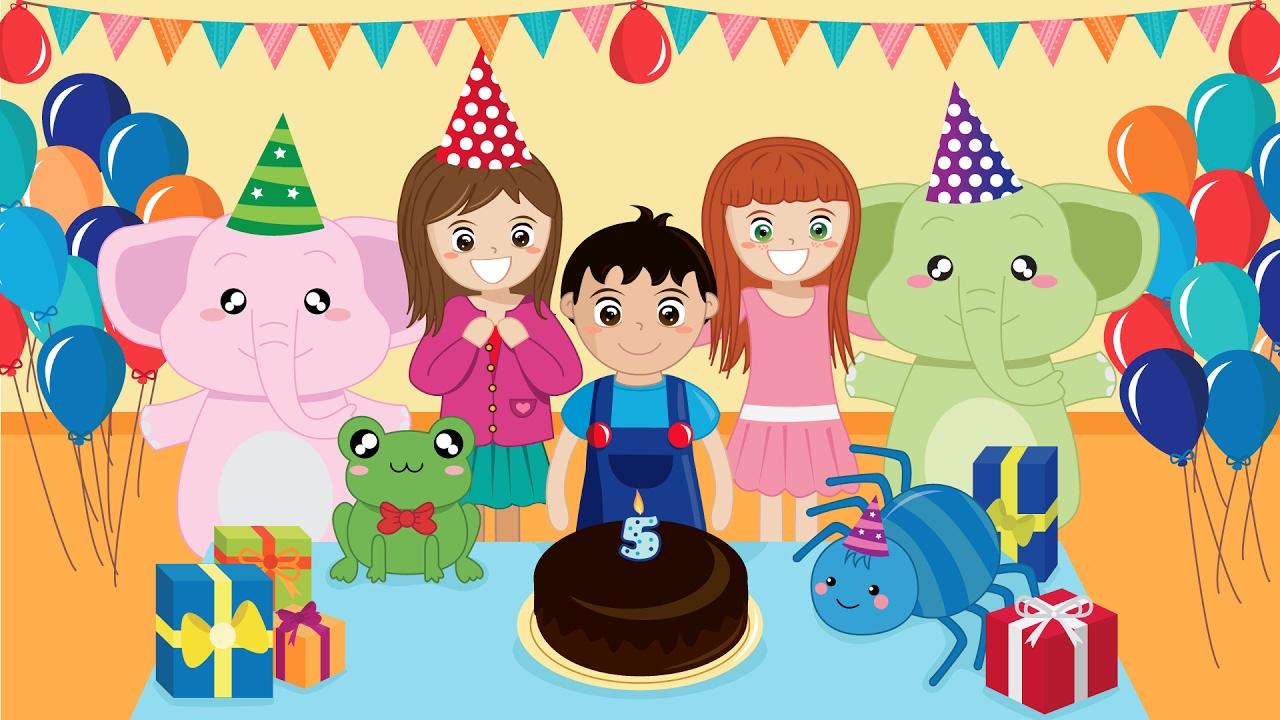 Tanti Auguri Happy Birthday Base Canzoncine E Filastrocche Per