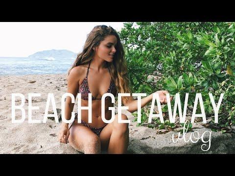 Beach Getaway in Costa Rica!! VLOG | Tess Florio