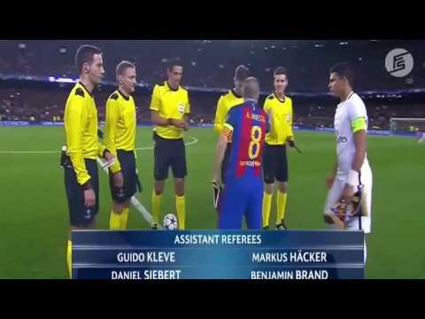 Barcelona Vs PSG I 09 Mar 2017 I HD Highlights