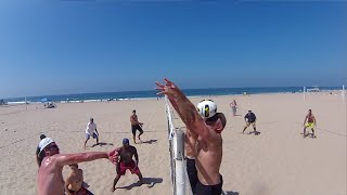 Shamrock Showdown 2015 Finals Beach Volleyball Tournament