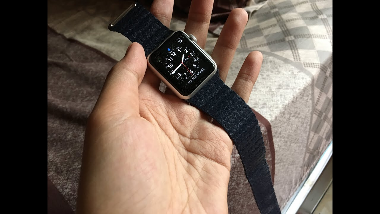 Unboxing Fake Leather Loop Apple Watch 38mm