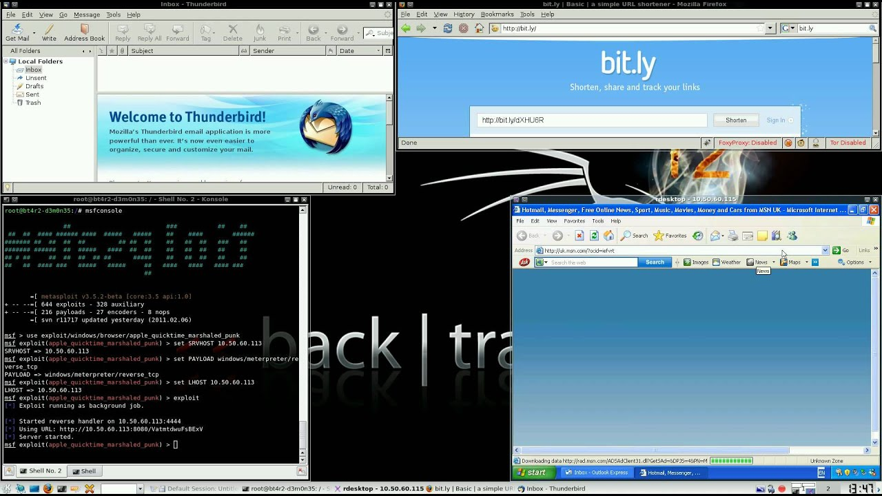 CVE-2010-1818 - URL Shortening and Metasploit