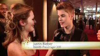 Justin Bieber bei BAMBI 2011