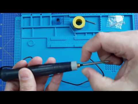 Prueba soldador USB de 8W
