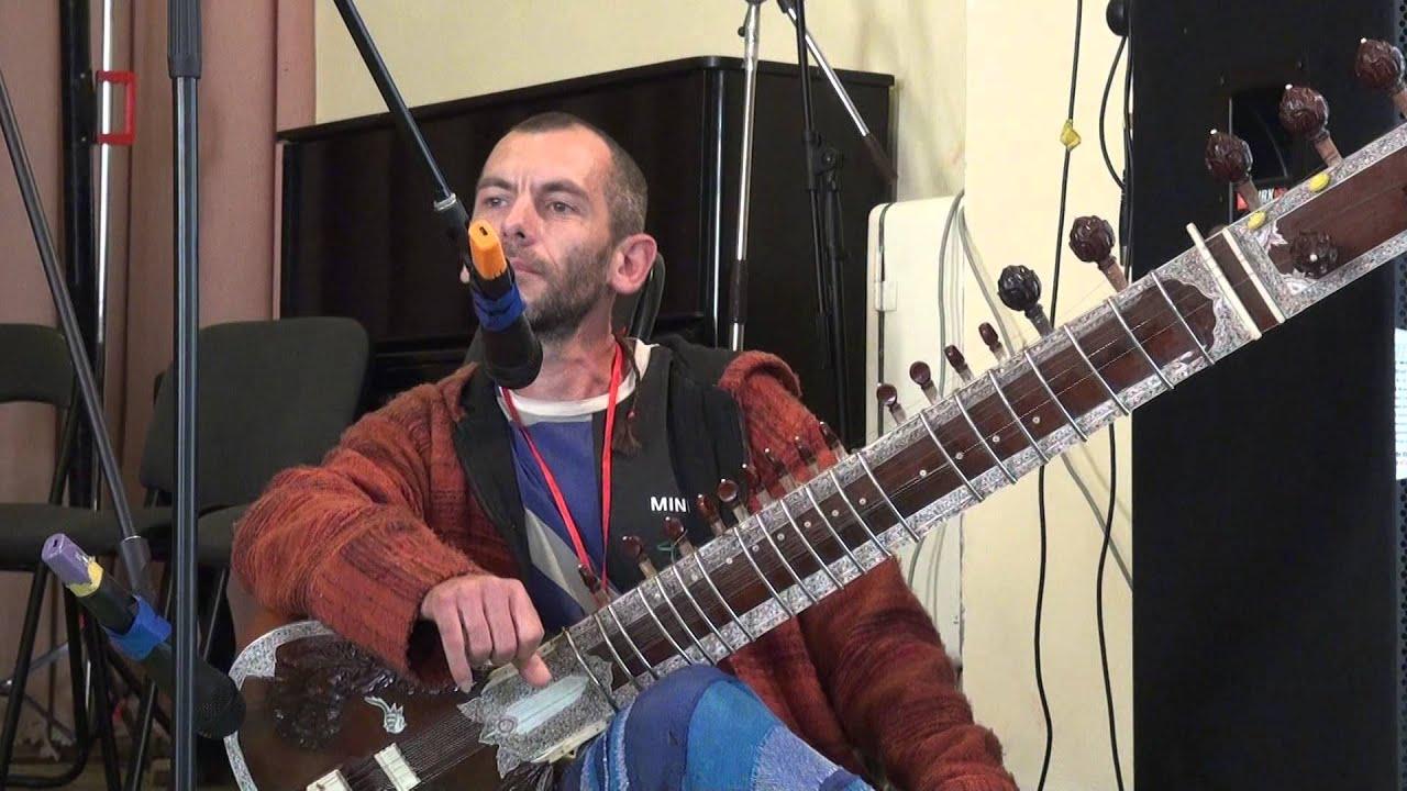 00373 Концерт Сергея Истомина на ситаре 04.10.2015