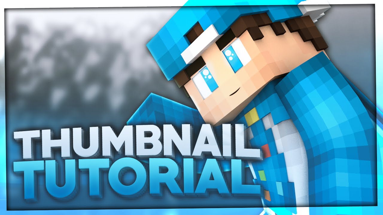 Minecraft Thumbnail Erstellen Tutorial Template How To Make A