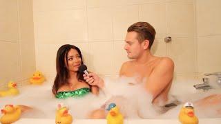 Aurélie (Les Ch'tis VS Les Marseillais) dans le bain de Jeremstar - INTERVIEW