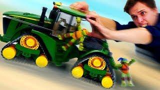 Луноход для Черепашек Ниндзя! Видео для детей про машинки.
