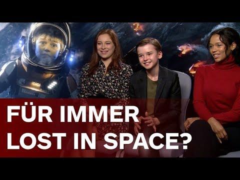 5 Staffeln Lost in Space?  Maxwell Jenkins, Taylor Russell & Mina Sundwall