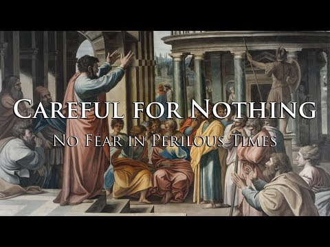 Sam Adams - Careful for Nothing: No Fear in Perilous Times