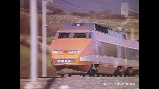 TGV AN 1 - 1982 SNCF Ferroviaire / French Trains