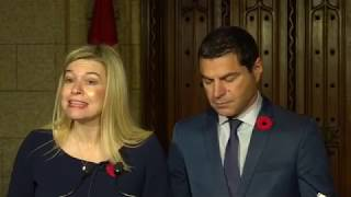 Press Conference: Oct. 30, 2018. Trudeau is attempting to rig the 2019 election in his favour.