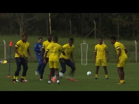 Ecuador se prepara para enfrentar a Uruguay en Montevideo