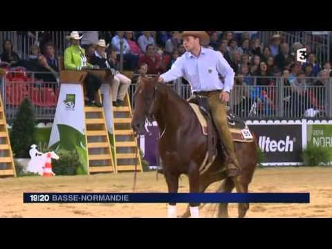 JT Soir en direct des Jeux Equestres Mondiaux / lundi 25 aout 18h55 - 19h20