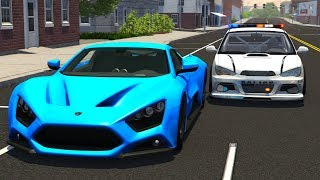 Extreme Police Chases Crashes&Fails #15 - BeamNG DRIVE