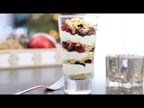 Рецепт — простой и красивый ДЕСЕРТ. Рецепт для новогоднего стола!