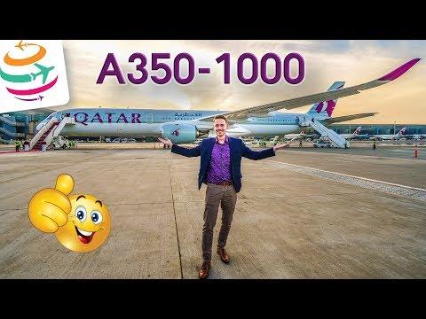 Erstflug A350-1000 Qatar