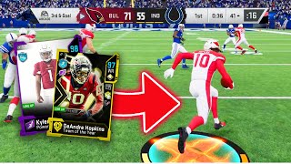 KYLER MURRAY AND DEANDRE HOPKINS MIGHT BE THE BEST DUO EVER! - Madden 20 Ultimate Team