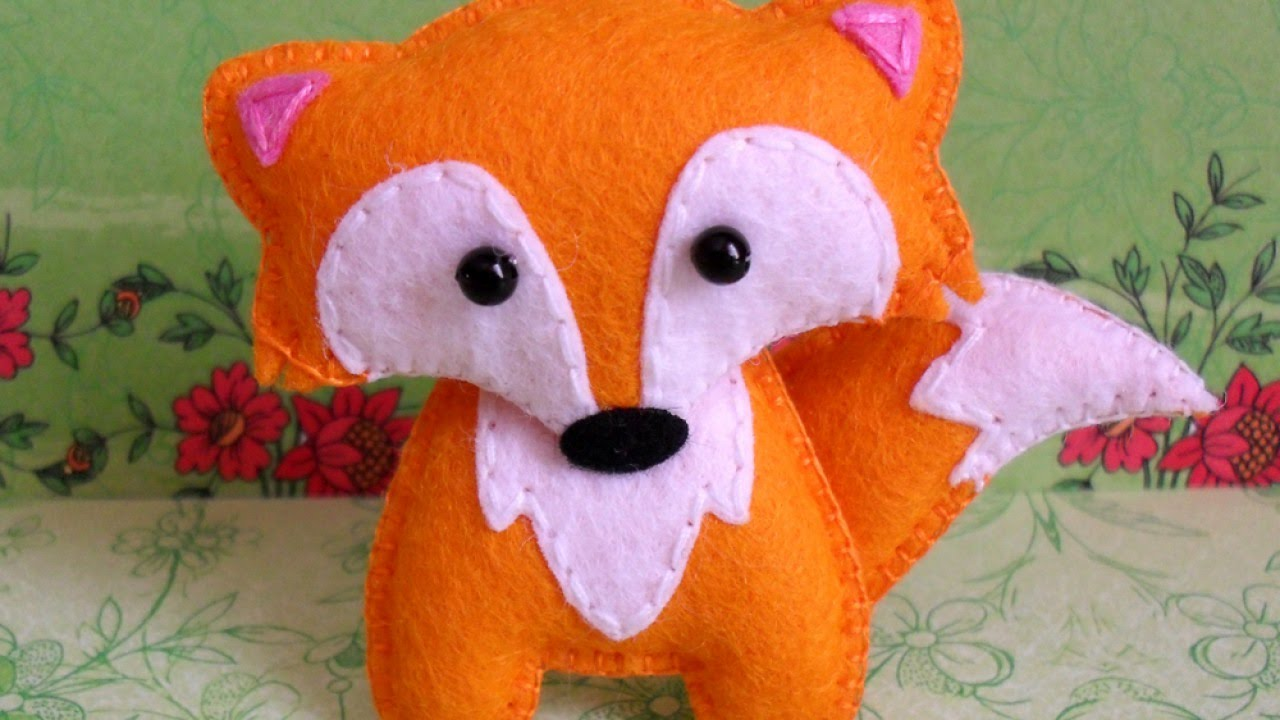 Create A Cute Felt Fox Brooch Diy Crafts Guidecentral