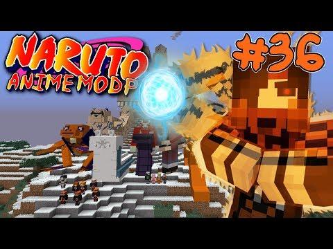 SAGE MODE! || Naruto Anime Modpack Episode 36 (Minecraft Naruto Anime Mod)