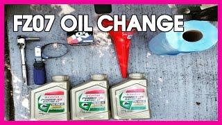 FZ-07 OIL CHANGE TIME
