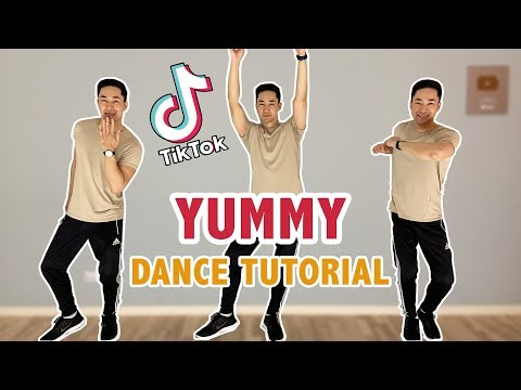 JUSTIN BIEBER - YUMMY TIKTOK DANCE TUTORIAL | Step By Step Tutorial