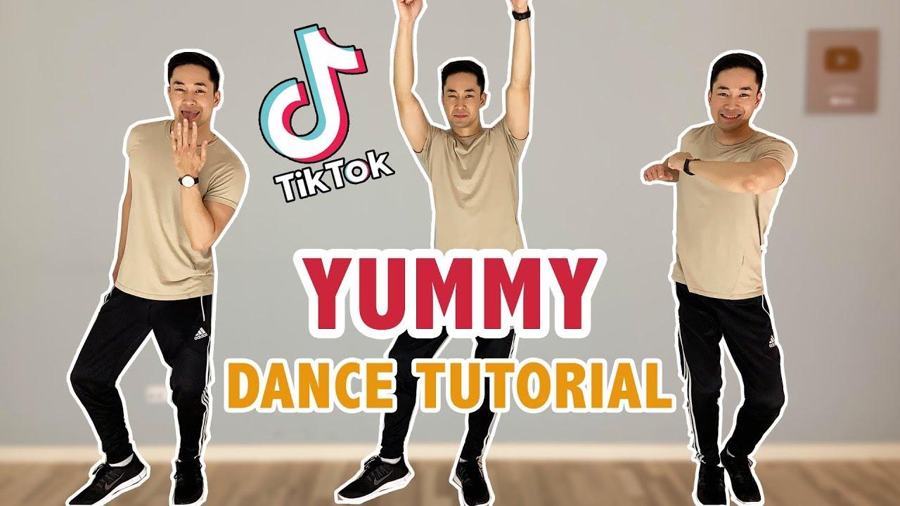 Justin Bieber Yummy Tiktok Dance Tutorial Step By Step Tutorial Youtube