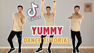 Justin bieber - yummy tiktok dance tutorial | step by