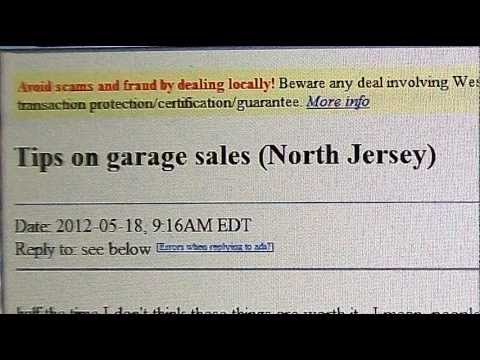 Tips on Garage Sales. A Dramatic Reading of a Funny Craigs ...