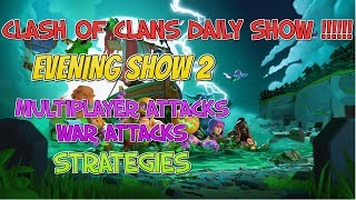Daily Clash of Clans show | show 2 | Clash of clans  | GaminG WItH RoY