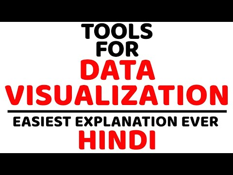 Tools Used In Data Visualization Ll Data Analytics Ll Explained In Hindi