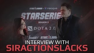 [RU SUB] Interview with SirActionSlacks, SL i-League StarSeries Season 3 Finals