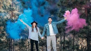 OUR OFFICIAL BABY GENDER REVEAL!!!