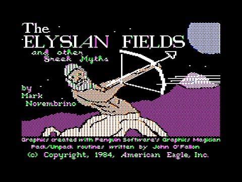 The Elysian Fields walkthrough (Apple II - American Eagle)