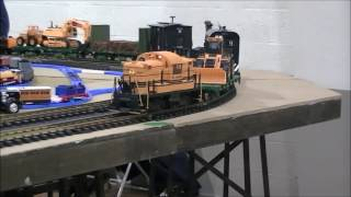 2017 ECLSTS Highlights Reel Featuring G Scale Diesel Locomotives