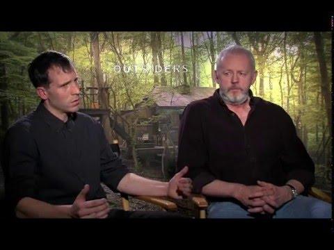 Thomas M. Wright and David Morse of WGN America's Outsiders