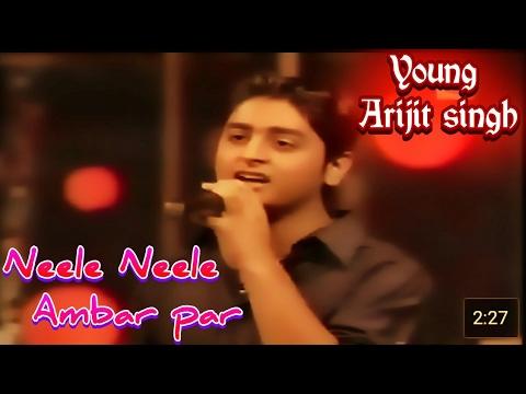neele-neele-ambar-par-|-young-arijit-singh-|-kishore-kumar