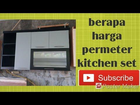 Berapa harga kitchen set minimalis permeter Yuk Simak ???