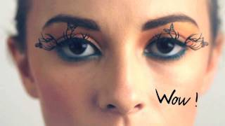 PAPERSELF eyelashes beauty tutorial