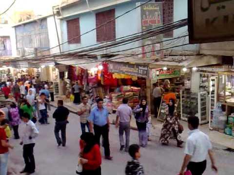 Dohuk Market Iraq Kurdistan Region