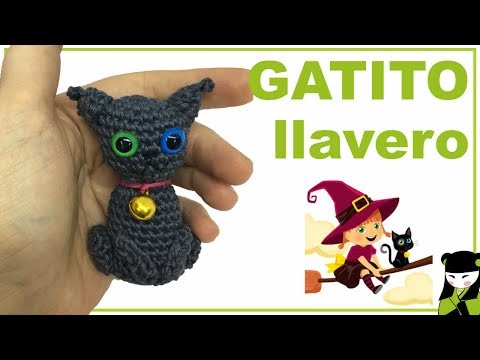 Presentacion de Misfu el GATITO A CROCHET amigo de la BRUJITA TATTY amigurumi