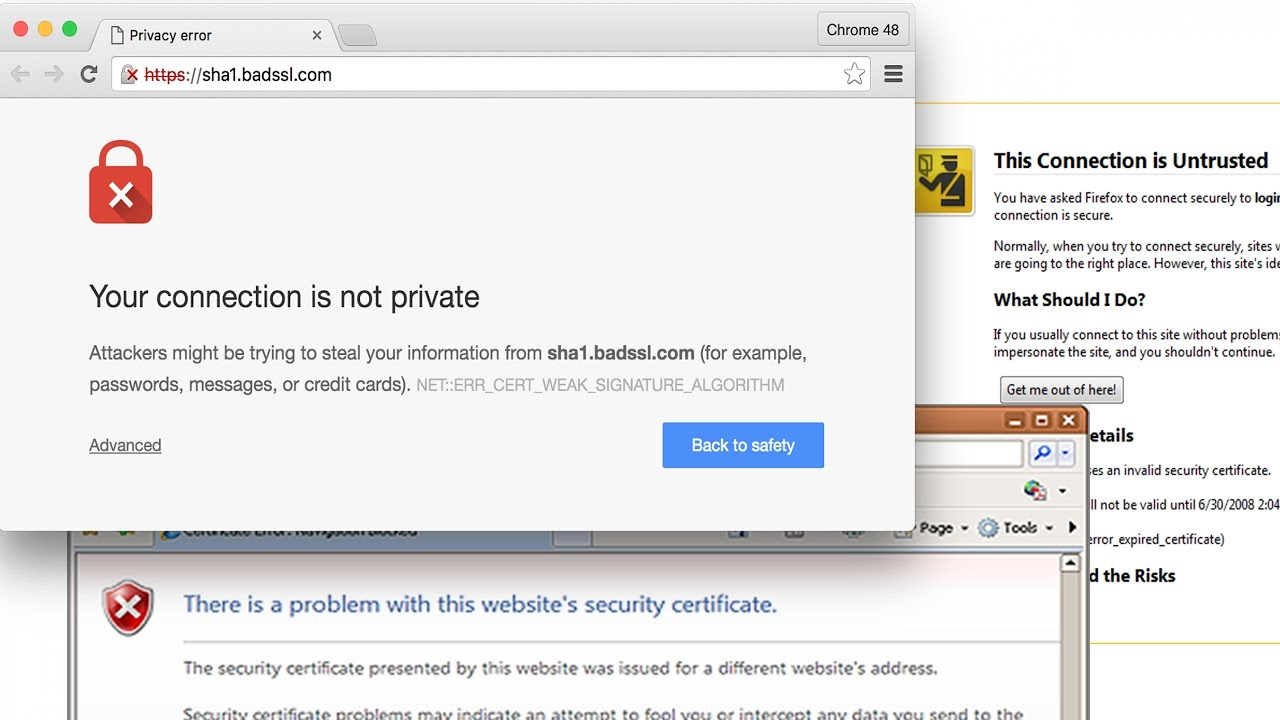 How To Fix Security Certificate Error In Google Chromeinternet