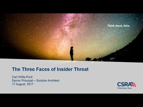 The Three Faces of Insider Threat