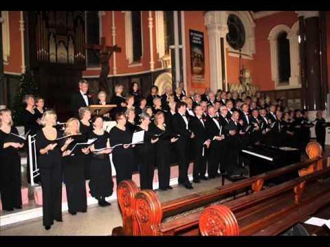 Christmas Lullaby (Rutter) Bray Choral Society.wmv
