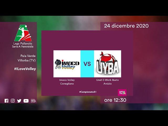Conegliano - Busto Arsizio | Speciale | 15^Giornata Campionato | Lega Volley Femminile 2020/21