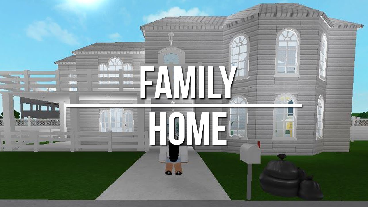 Roblox Welcome To Bloxburg Family Home 100k